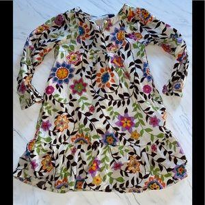 Baby Gap floral dress l/s 3t